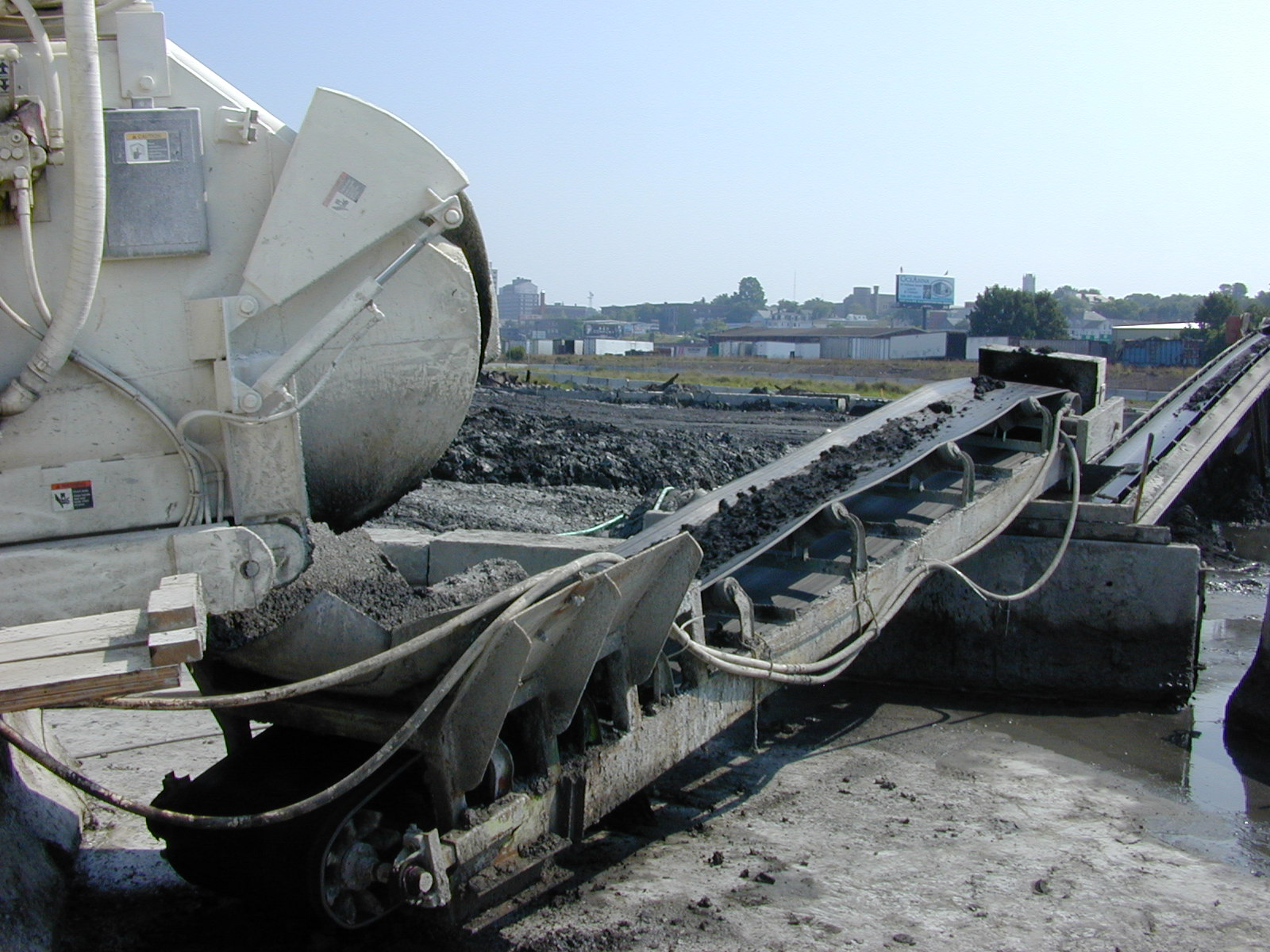 Maxcrete Solidifies Dredged New Bedford Harbor Soils