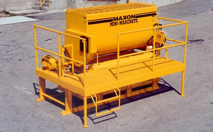 Mini-Maxcrete Stabilizes Hazardous Waste