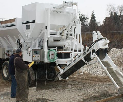 Mobile Concrete Mixing