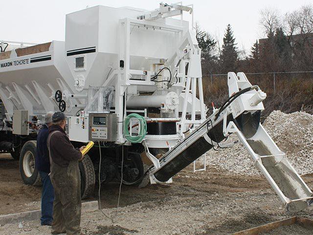 Mobile Concrete Mixing