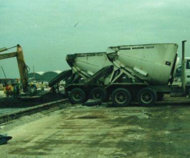 1991 Chek Lap Kok Airport by President Bill Maxon