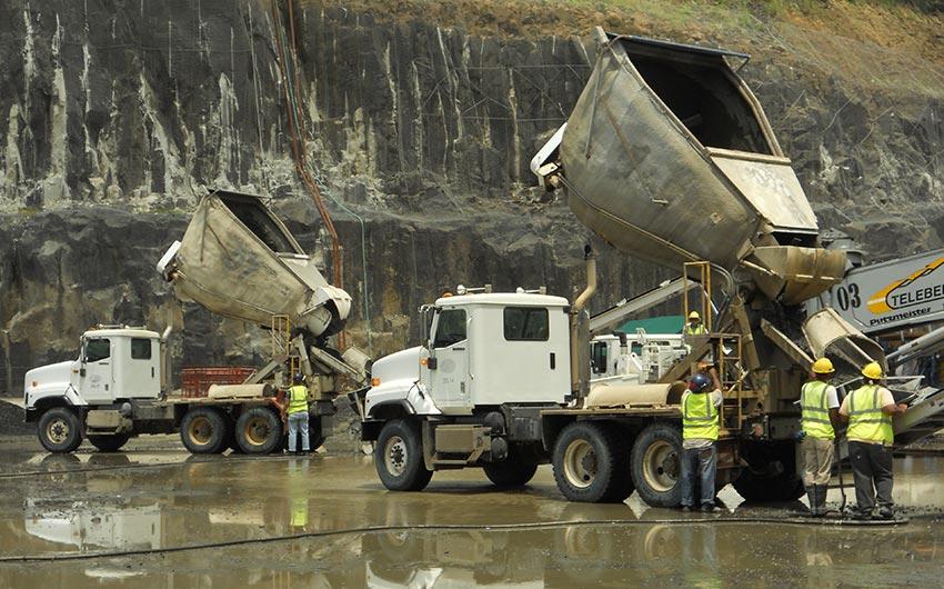 Agitors and Surgecretes at Panama Canal