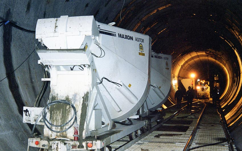 Rail Mounted Agitor NYC Tunnel No 3