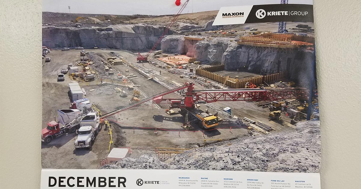 Maxon Agitors for Kreite Group's December 2018