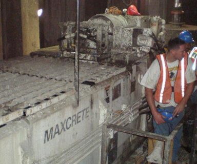 Maxcrete Mixes Foam Concrete on East Side Access Project NY