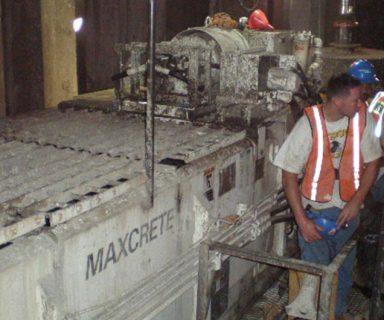 Maxcrete Mixes Foam Concrete on East Side Access Project NY