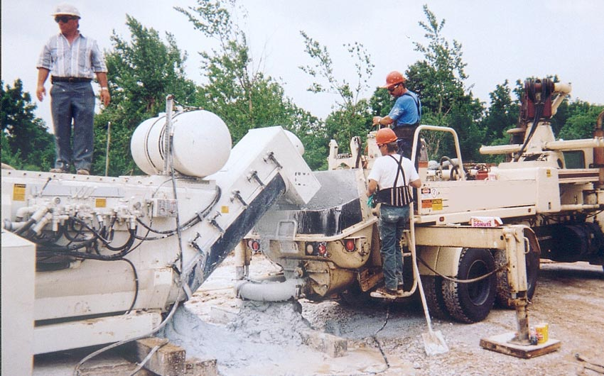 Maxcrete Sludge Solidification