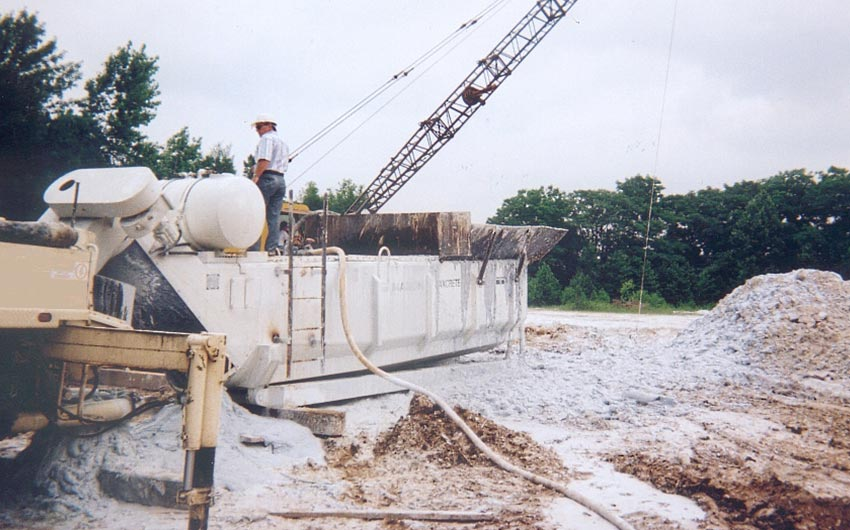 Maxcrete Solidification Backfill