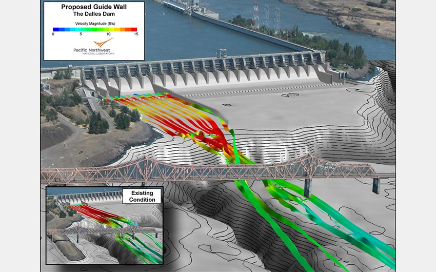 Dalles Dam Spillway Project Outlook