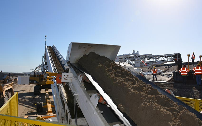 36`` Surgecrete Conveyor