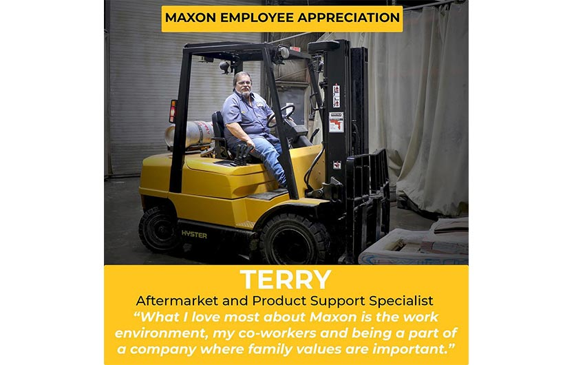 Maxon Employee Appreciation – Terry!