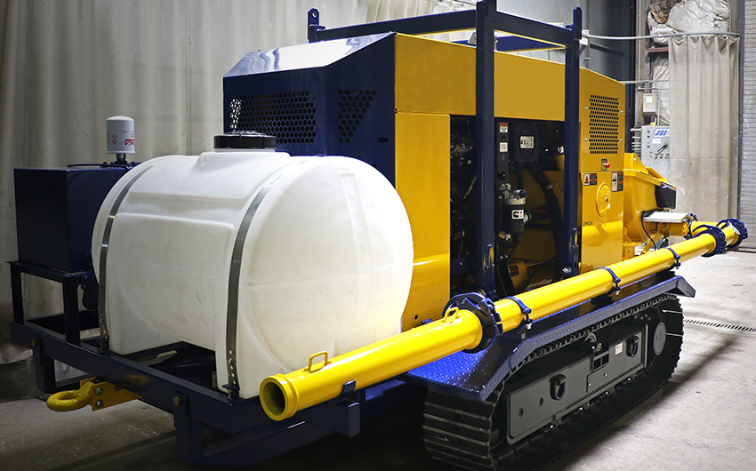 Maxon Track-Mounted TK 70 Water Tank