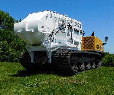 Track-mounted Maxon Maxcrete
