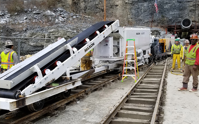 Rail-Mounted Electric Equipment for Atlanta Water Supply Tunnel