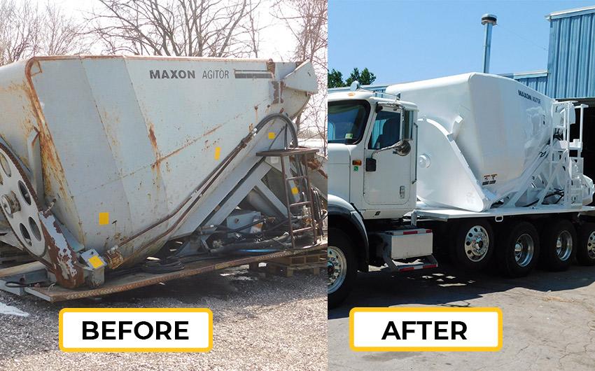 Maxon Reconditions Equipment