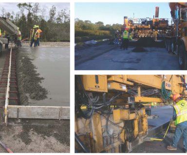 Ajax Paving Re-Introduces Concrete to Florida Highways