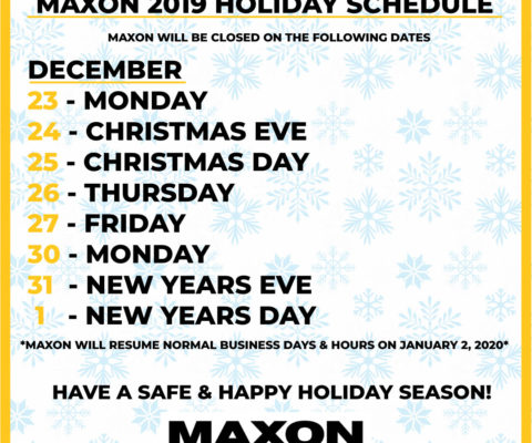 Maxon's Upcoming Events