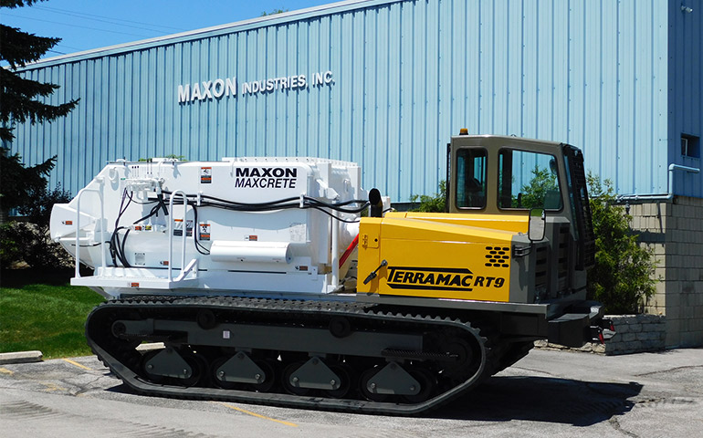 Maxon Terramac Crawler Carrier Maxcrete