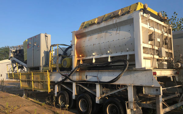 Portable Sicoma MAO 6000 Twin Shaft Mixer
