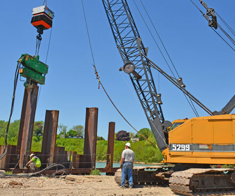 Neva-Shock Pile Drives at South Milwaukee Yacht Club