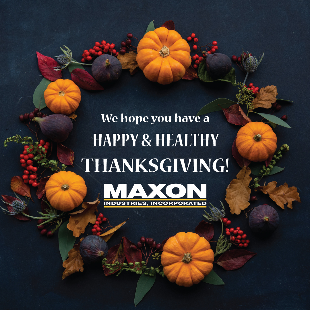 Have a Happy & Healthy Thanksgiving!