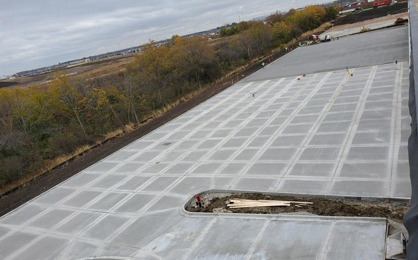 Concrete Work Outside Distribution Center
